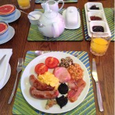 Cooked Breakfast - Redroofs Bed and Breakfast Tenbury Wells